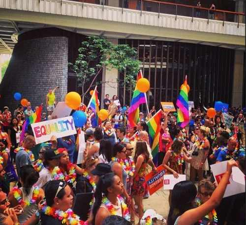 Hawaiians Celebrate Marriage Equality