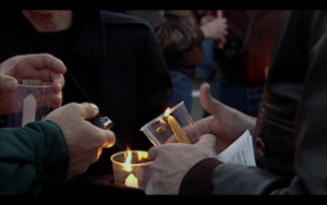 1.lighting candles