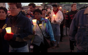 2.candlelight march