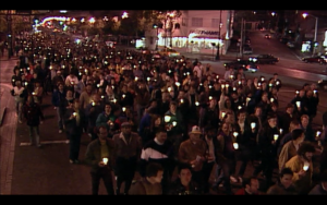 3.candlelight march