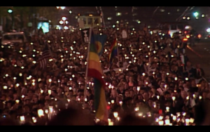 4.candlelight march sf