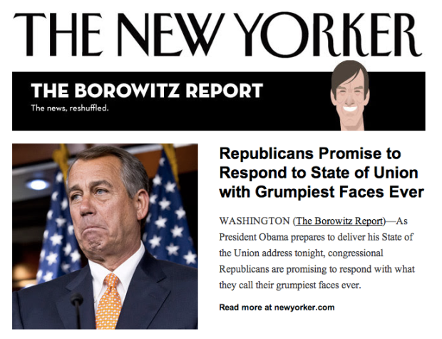 The Borowitz Report @ newyorker.com