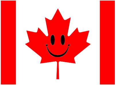 happy maple leaf