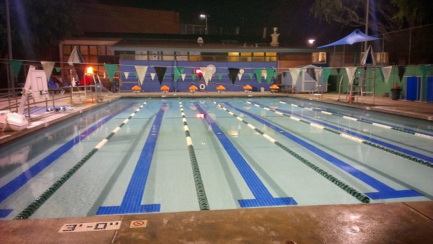 West Hollywood Park swimming pool