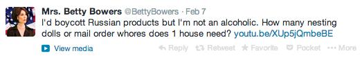 BettyBowers.tweet
