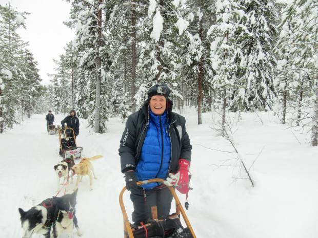 Lois.dogsledding.sweden