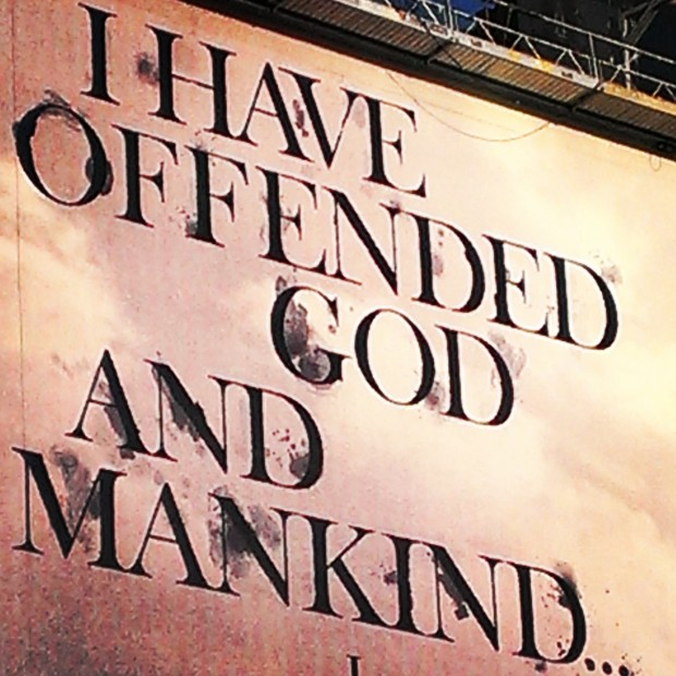offended god and mankind