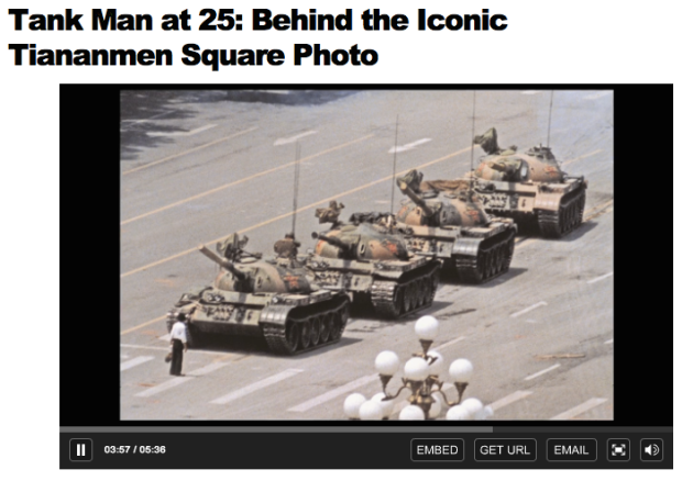 Time.Tank Man at 25