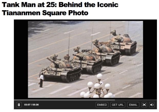 Time.Tank Man at 25