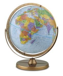 politial globe 2