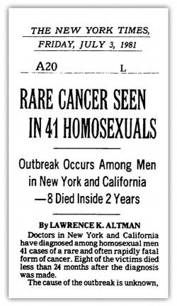 NYT.GayCancer.070381